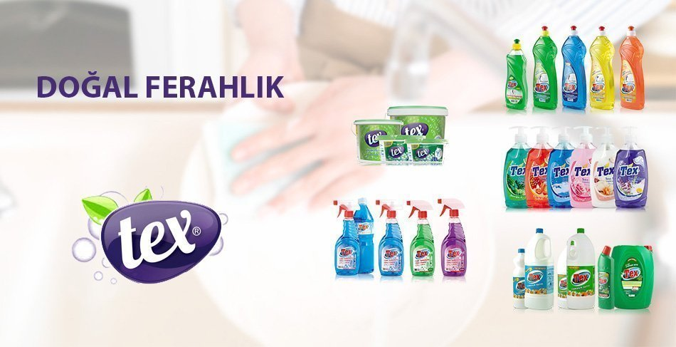 tex temizlik ürünleri